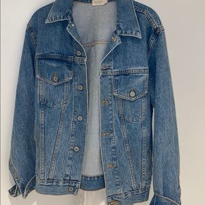 Brandy large fitting one size jean jacket